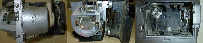 Vieze projectorlamp